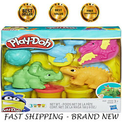 PLAY DOH Set modeling clay Colors Dinosaur kids Toy Kit tools cutter egg roller $14.99