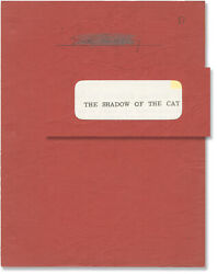 John Gilling Shadow Of The Cat Original Screenplay For The 1961 Film 148524