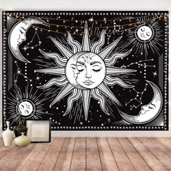 Wall Tapestry Black Wall Hanging Wall Art and Home Decor for Bedroom Dorm Decor