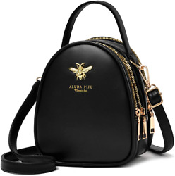 Small Crossbody Bags Shoulder Bag for Women Faux Leather $23.17