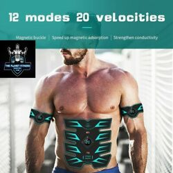 New Ems Magnetic Host 12mode 20intensity High Vibration Abdominal Muscle Trainer
