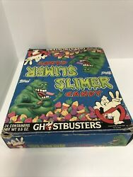 Topps Ghostbusters Slimer Candy Containers Vintage Never Used Rare Box W/o Line