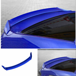 Abs Blue Mugen Rear Boot Spoiler Wing Flap For Honda Accord 10th 2018-2019 2020