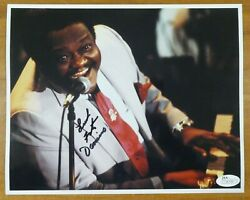 Fats Domino Singer Signed 8x10 Photo With Jsa Sticker No Card