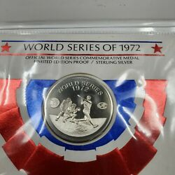 The Franklin Mint World Series 1972 Silver Cachet Sterling Commemorative Coin
