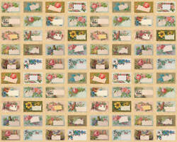 Moda Flea Market Mix Parchment 7352 12d Quilt Fabric By The Yard - Cathe Holden