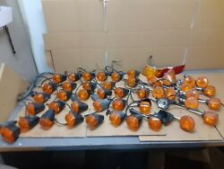 48 Assorted Used Turnsignals For Vintage Kawasaki Motorcycles