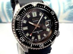 709 / Seiko Custom Second Diver 7002 6105 2nd Automatic Winding Shipping From Jp
