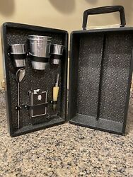 Vintage Mid-century Travel Bar Case From Ever-wear