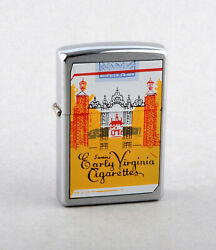 Zippo 2000 Swainand039s Early Virginia Cigarettes Lighter Brushed Chrome