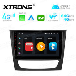 7-inch Android 10.0 For Mercedes-benz E-w211 Car Stereo Dvd Gps Radio Octa-core
