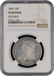 1809 Capped Bust Half Dollar Ngc Xf Details Cleaned Nice Free Shipping