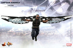 1/6 Hot Toys Mms245 Captain America The Winter Soldier Mms245 Falcon Figure