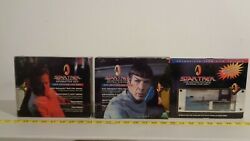 Star Trek Tmp Lmh Film Cell Collection Of Matched Sets 1and2 + Ufp 1996 11 Cells