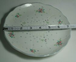 Vintage Mikasa Spring Melodies Song Of Love Pattern Salad Plate Or Saucer