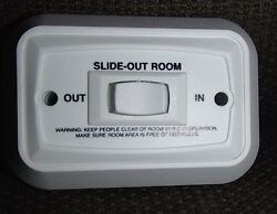 New Sigma Rv Slide-out Room Momentary Rocker Switch Rv 20a 14vdc Camper Trailer