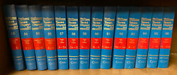 Set Of 24 Westand039s Texas Digest P. 2d Law Books Blue Covers Antique Law Books