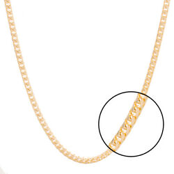 Hallmarked 9ct Gold Solid Italian Franco Chain - 28 - 3mm - Rrp £2140 I37_28