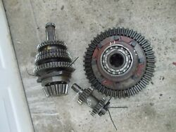 Farmall H Tractor Ih Original Ring And Pinion Matched Drive Gear Set W/ Reverser