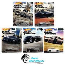 Hot Wheels Premium 2020 Fast And Furious Euro Fast K Case Set 5 Cars [in-stock]