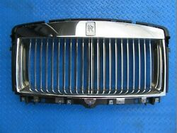 Rolls Royce Ghost Rr4 Main Complete Radiator Grille 8774