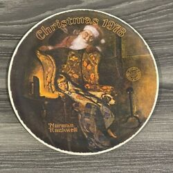 Norman Rockwell Santa Limited Edition Plates Knowles China Lot Of 3