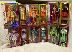 Poopsie Rainbow High Dolls Surprise Collect The Rainbow New Lot Of 6