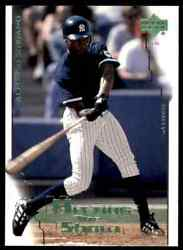 2000 Upper Deck Hitting The Show Alfonso Soriano New York Yankees 82
