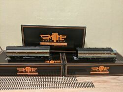 Mth Ho 80-2123-1l And 80-2123-1t F7 Ab Erie Lackawanna 6111 And 6112