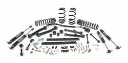 Jks J-spec 3 Suspension Lift Kit For Jeep Tj Wrangler 97-02 Full System And Fox