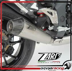 Zard Conical Low Approved Titanium Full Exhaust Triumph Speed Triple 1050 /r 11