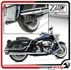 Zard Penta Silver Street Legal For Harley Davidson Touring - Exhausts System