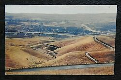 1955 Clearwater River Dumps In The Snake River Lewiston Id Idaho Rppc Postcard
