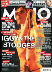 Mojo Music Magazine-april 2007-iggy Pop And The Stooges Cover-arcade Fire, Genesis