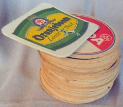 🔥 Vintage Lot Of Old Dutch Beer Coasters Also Some With Horoscope/star Signs