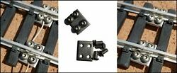 100 G Scale Stainless Steel Track Locks -the Best Made - Fits Lgb, Usa, Bachmann