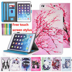 For iPad 9.7 quot; 5th 6th Gen 2018 Xmas Smart Magnetic Flip Leather Stand Case