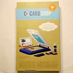 Yudu Personal Card Screen Printer, New, Open Box. Complete Makes 5 X 7 Cards.c