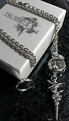 Final Fantasy Xiii Serah Farron Necklace And Ring Ff13 Cosplay F/s W/tracking New