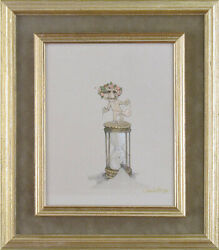 Charles Bragg - Hour Glass Oil Painting On Panel Signed Circa 2006