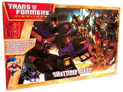 Transformers Timelines Collector's Clubs Shattered Glass Action Figure Set
