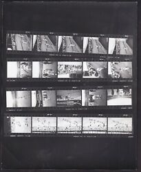 1962 Willie Mays Polo Grounds Return Incredible Baseball Contact Sheet Rickerby