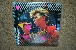 David Bowie U.k. Picture Disc Lp Best Of Montreal And03987 Sealed