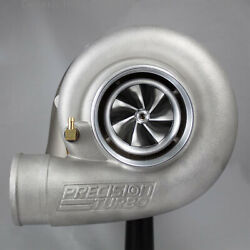 Precision Turbo Gen2 7275 B Bearing Hp Cea Billet T4 Inlet V-band Outlet .81 A/r