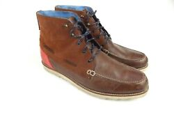 Ted Baker Durres 2 Chukka Leather Brown Red Boots Boat Rare Discontinued Men 13