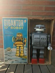 Mego 17 Giant Gigantor Robot High Condition Working Made In Hong Kong Not Japan