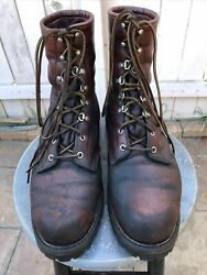 Vintage Red Wing Irish Setter Made In Usa 11.5d