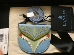 Lanvin Ice Blue And Pale Green Small Mask Bag Runway Sold Out Rare Nwt Authentic