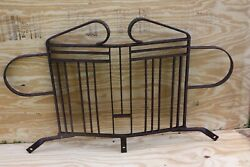 Custom Old Jeep Grill Guard Military Wrought Iron Bantam Us Army Willys M38 Cj