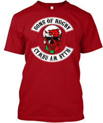 Teespring Shirtme Sons Of Rugby Wales Classic Tee 100% Cotton 100% Cotton